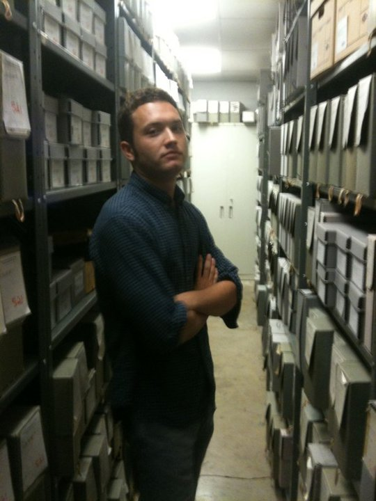 Ian Darnell at UMSL Archives