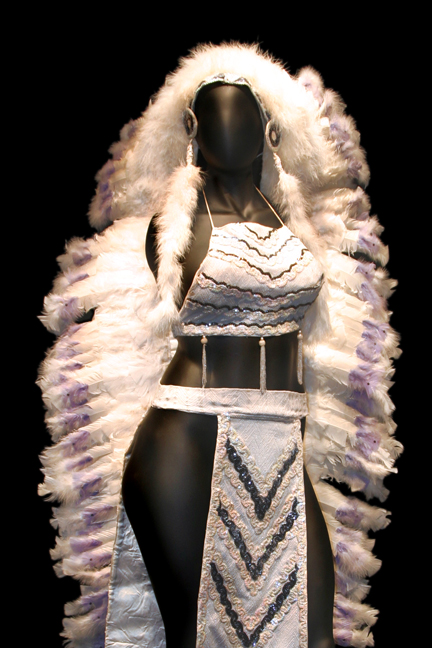Feather-Drag-Costume-detail